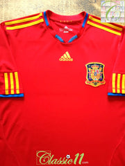 2009/10 Spain Home Football Shirt (XXL)