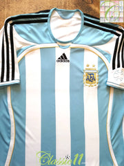 2006/07 Argentina Home Football Shirt (L)