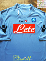 2009/10 Napoli Home Football Shirt (XL)