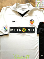 2001/02 Valencia Home La Liga Football Shirt (M)