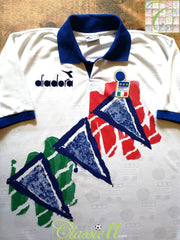 1993/94 Italy Football Training Shirt (L)