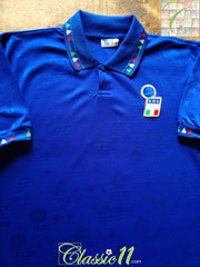 1993/94 Italy Home Football Shirt (XL)