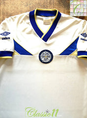 1986/87 Leeds United Home Football Shirt (S)