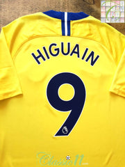 2018/19 Chelsea Away Premier League Football Shirt Higuain #9 (M)