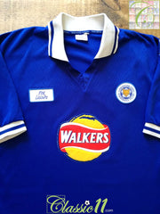 1998/99 Leicester City Home Football Shirt (XL)
