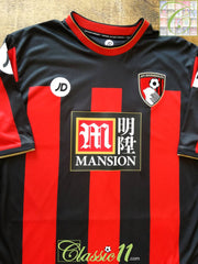 2015/16 Bournemouth Home Football Shirt (M)