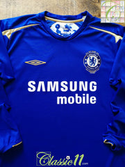 2005/06 Chelsea Home Football Shirt. (XL)