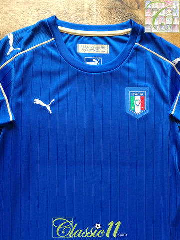 2016/17 Italy Home Football Shirt (L)