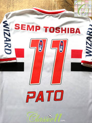2014 Sao Paulo Home Football Shirt Pato #11 (L)