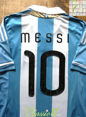 2011/12 Argentina Home Football Shirt Messi #10 (M)