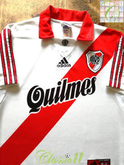 1999/00 River Plate Home Football Shirt (S)
