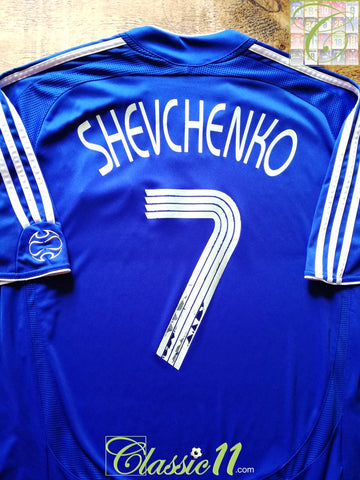 2006/07 Chelsea Home European Football Shirt Shevchenko #7 (XL)