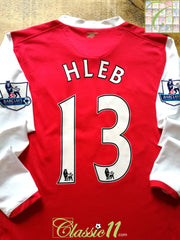 2006/07 Arsenal Home Premier League Football Shirt. Hleb #13 (M)