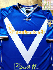2002/03 Brescia Home Football Shirt (L)