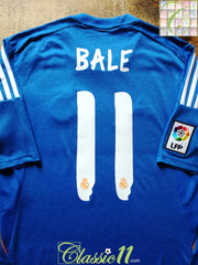 2013/14 Real Madrid Away La Liga Football Shirt Bale #11 (S)
