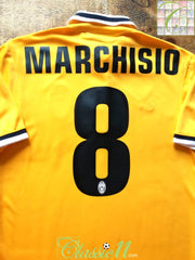 2013/14 Juventus Away Serie A Football Shirt Marchisio #8 (S)
