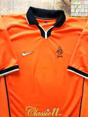 1998/99 Netherlands Home Football Shirt (M)
