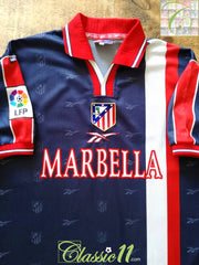 1998/99 Atlético Madrid Away La Liga Football Shirt (XL)
