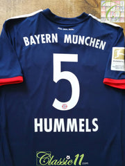 2017/18 Bayern Munich Away Bundesliga Football Shirt Hummels #5 (L) *BNWT*
