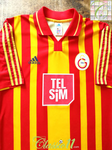 2000/01 Galatasaray Home Football Shirt (S)