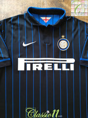 2014/15 Internazionale Home Football Shirt (B)