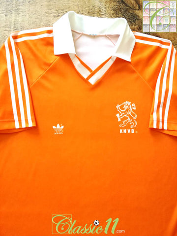 1990/91 Netherlands Home Football Shirt (L)