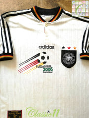 1996/97 Germany Home '2006 World Cup Bid' Football Shirt (XL)