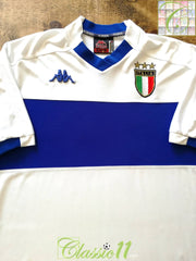 1999/00 Italy Away Football Shirt (L)
