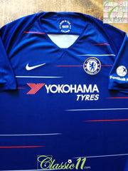 2018/19 Chelsea Home Football Aid Shirt (XL)