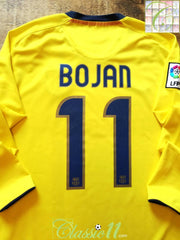 2008/09 Barcelona Away La Liga Football Shirt. Bojan #11 (M)