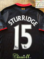 2014/15 Liverpool 3rd Premier League Football Shirt Sturridge #15 (Y)