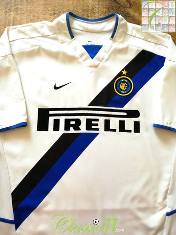 2002/03 Internazionale Away Football Shirt (XL)