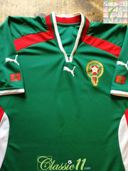 2000/01 Morocco Home Football Shirt (L)