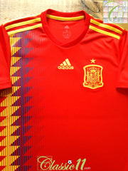 2018/19 Spain Home Football Shirt (S) *BNWT*