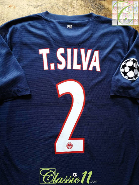 low priced cea29 6b13a 2012/13 PSG Home Player Issue Champions League Football ...
