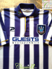 1995/96 West Bromwich Albion Home Football Shirt (B)