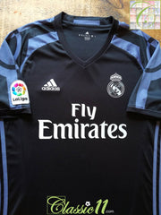 2016/17 Real Madrid 3rd La Liga Football Shirt (M)