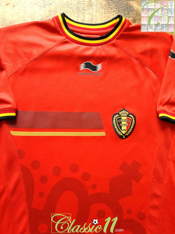 2014/15 Belgium Home Football Shirt (M)