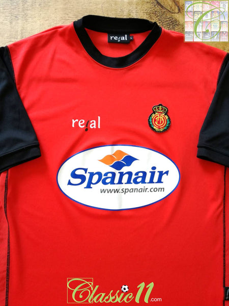 sports shoes abe4d d2cda 2003/04 Real Mallorca Home Football Shirt / Old Original ...