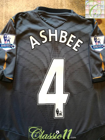 2008/09 Hull City Away Premier League Football Shirt Ashbee #4 (S)