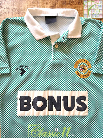 1990/91 Hull City Away Football Shirt (B)