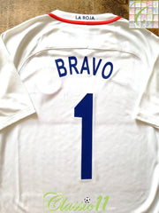 2016/17 Chile Away Football Shirt Bravo #1 (M)