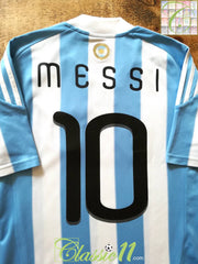 2010/11 Argentina Home Football Shirt Messi #10 (S)