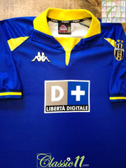 1998/99 Juventus 3rd Football Shirt (XXL)