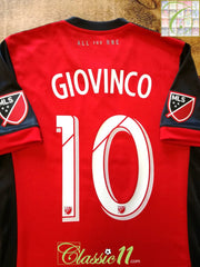2017 Toronto Home MLS Football Shirt Giovinco #10 (M)
