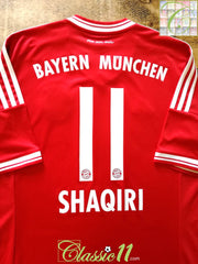 2013/14 Bayern Munich Home Football Shirt Shaquiri #11 (L)