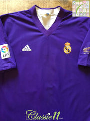 2001/02 Real Madrid 3rd Centenary La Liga Football Shirt (XL)
