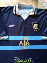 1999/00 Argentina Away Football Shirt (XL)