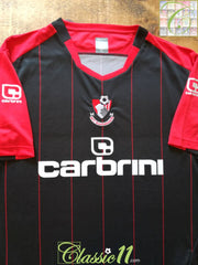 2010/11 Bournemouth Away Football Shirt (XL)