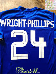 2005/06 Chelsea Home European Football Shirt Wright-Phillips #24 (L)